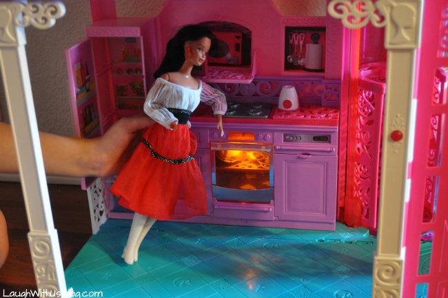 Barbie Dreamhouse kitchen #sp