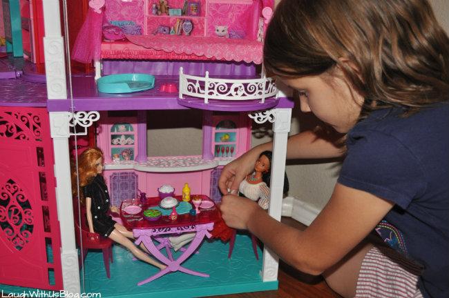 Barbie dreamhouse dining room #sp