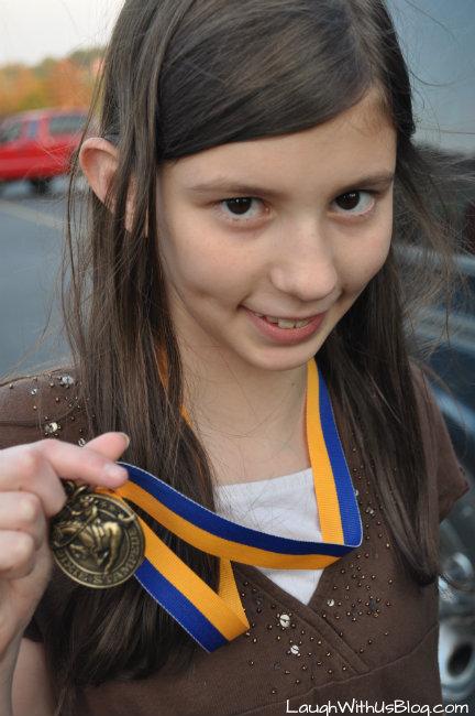 Dixie Stampede medal