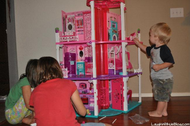 Fun with Barbie Dreamhouse #sp