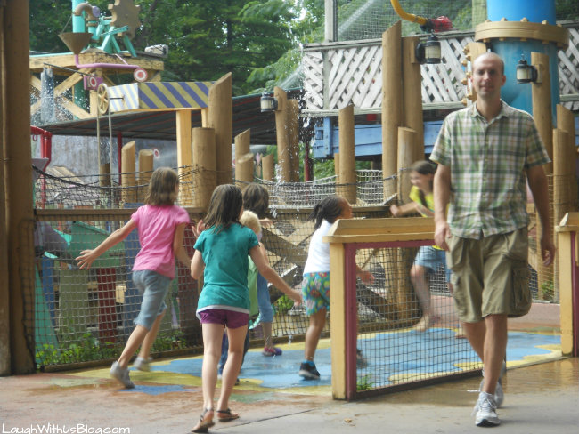 Kiddie area at Silver Dollar City #spon
