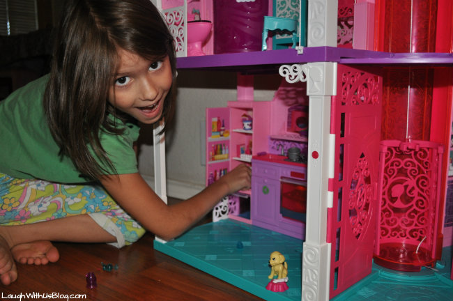 Kitchen in the Barbie Dreamhouse #sp
