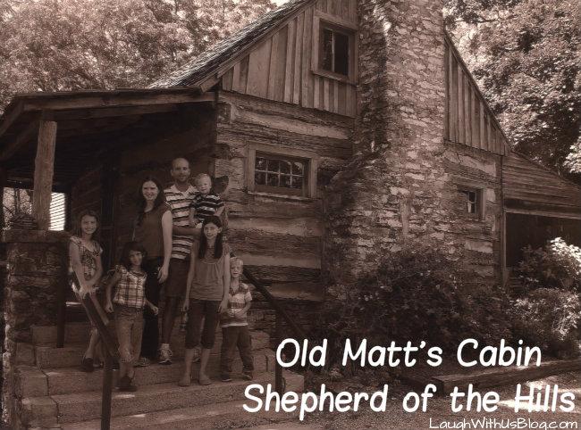 Old Matt's cabin Shepherd of the Hills