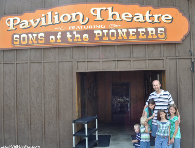 Pavilion Theater Featuring Sons of the Pioneers