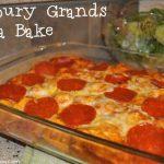 Grands! Pepperoni Pizza Bake