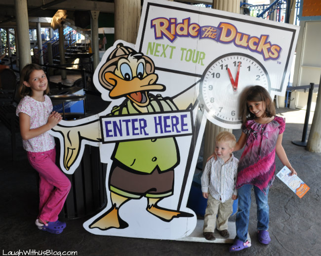 Ride the Ducks in Branson