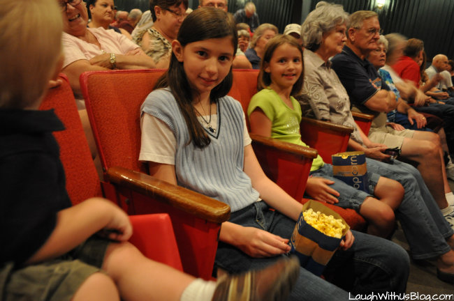 Snacking at the Baldknobbers Show #spon