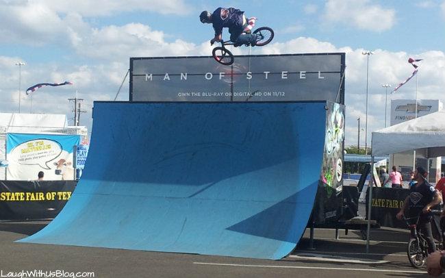 BMX show Texas State Fair