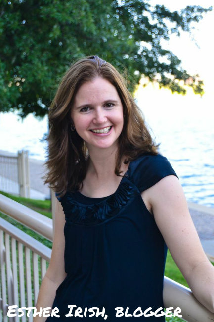 Esther Irish, blogger