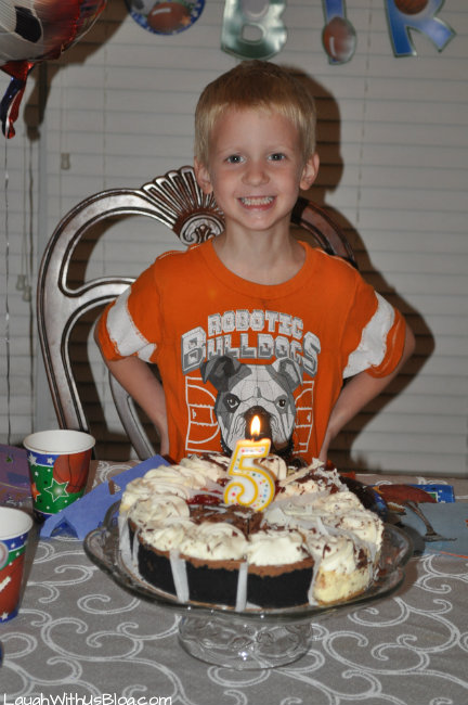 Happy 5th Birthday boy