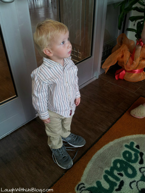 Little Boy Big Shoes