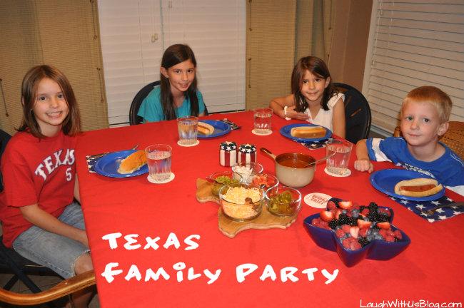 Texas Family Party #1TexasChili
