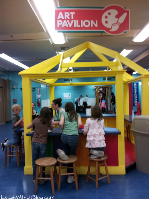 Art pavillions SA Childrens museum