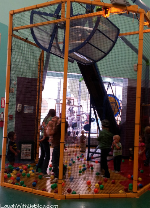 Balls contraption San Antonio Childrens Museum