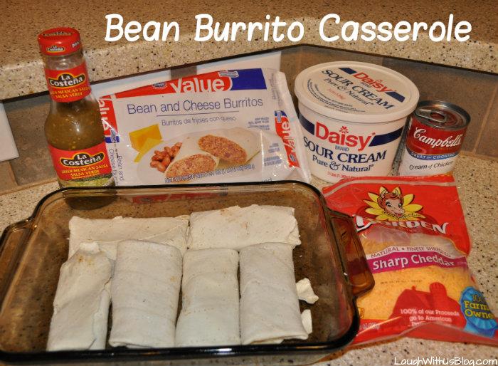 Bean Burrito Casserole Recipe