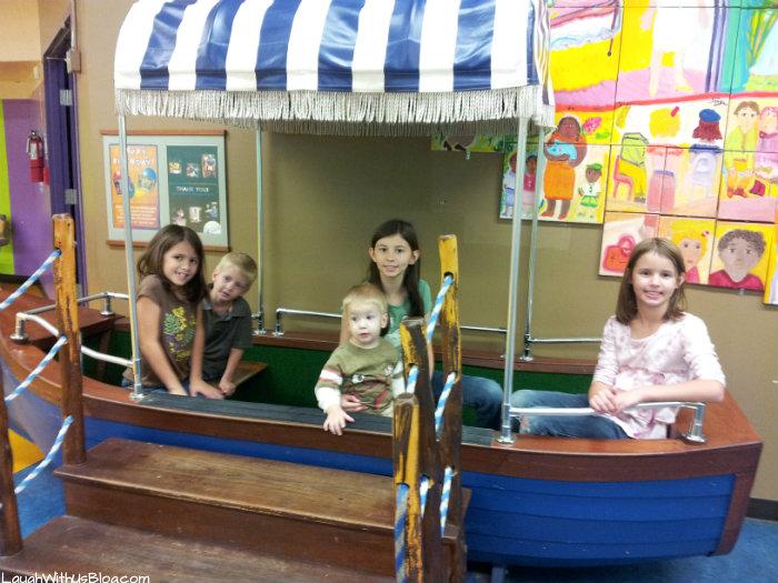 Boat San Antonio Children's Museum