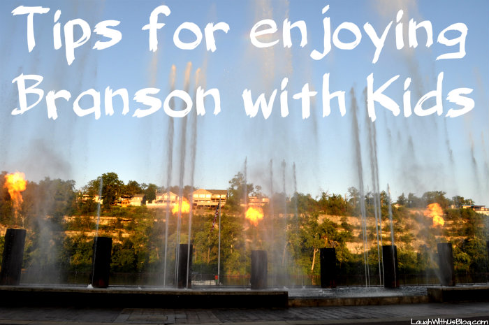 Branson tips with kids