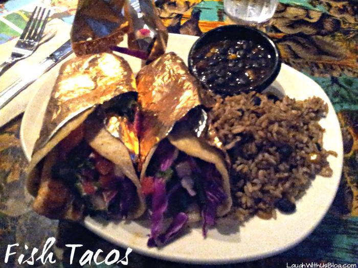 Fish Tacos Rainforest cafe
