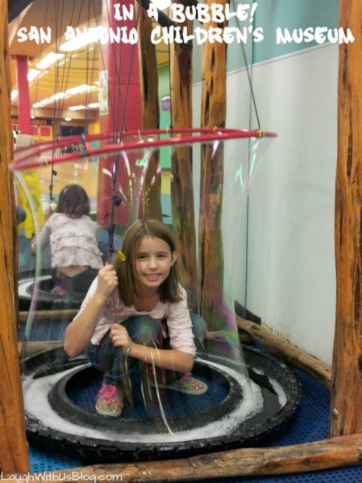 In a Bubble San Antonio Childrens Museum
