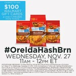Join me for the Ore-Ida #OreIdaHashBrn Twitter Party!