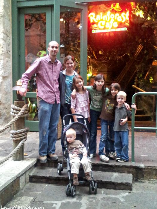 Rainforest Cafe San Antonio Riverwalk