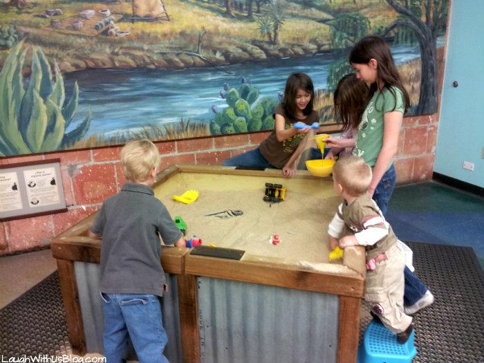 Sand Pit San Antonio Children's Museum