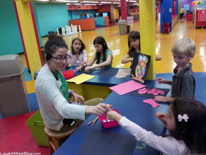 art class San Antonio Children's museum