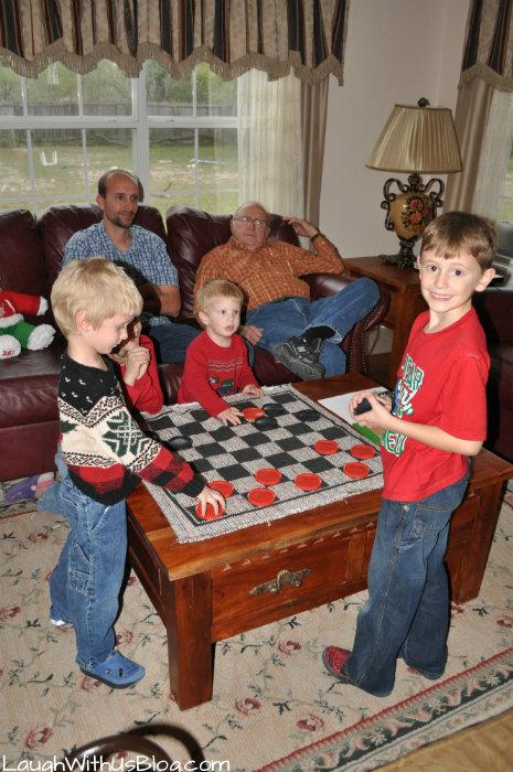 Games at Christmas