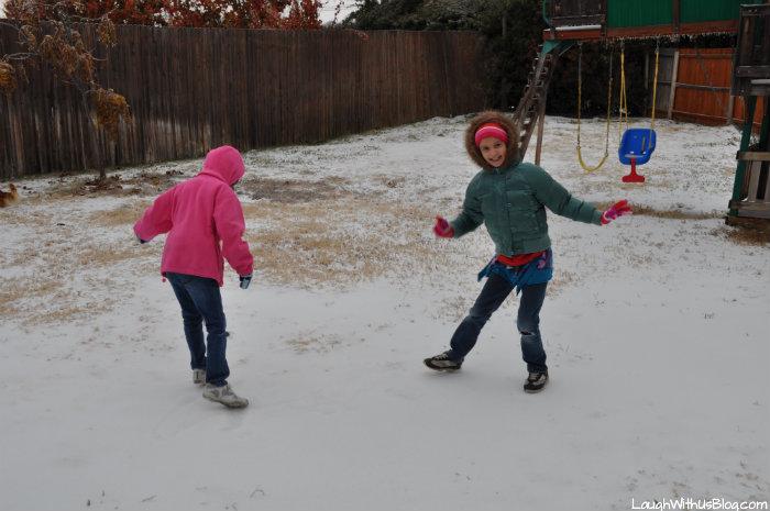 skating in the back yard