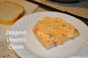 Homemade Jalapeno Pimento Cheese Spread