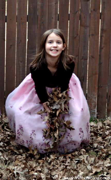 Joy in the leaves