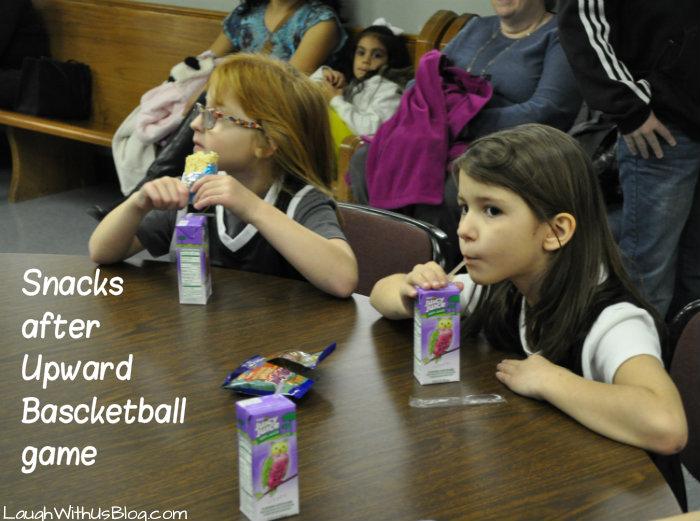Snacks after upward basketball