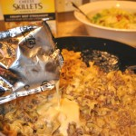 Easy comfort food in a jiffy with Kraft Cheesy Skillets #CookinComfort #shop