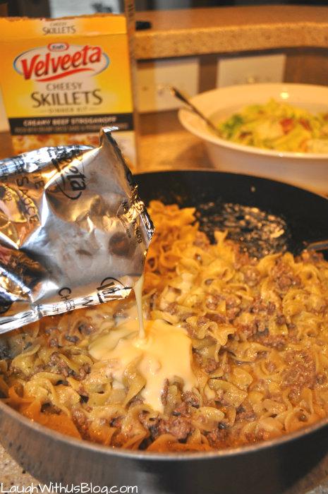 Kraft Cheesy Skillet Stroganoff #shop