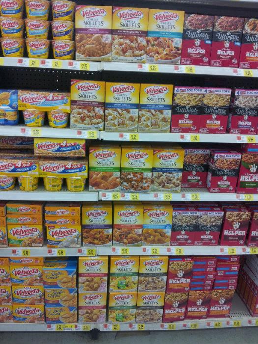 Kraft Cheesy Skillets at Walmart #shop