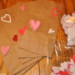 Easy Valentine Treat Bags