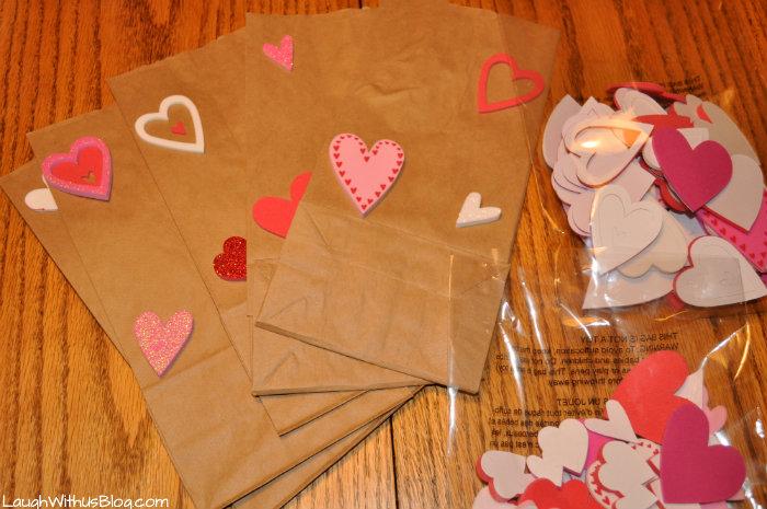 Valentine teacher bags