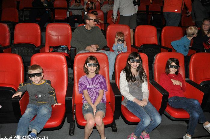 4D movies at Legoland #ad
