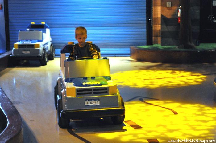 Drive a car at LEGOLAND #ad