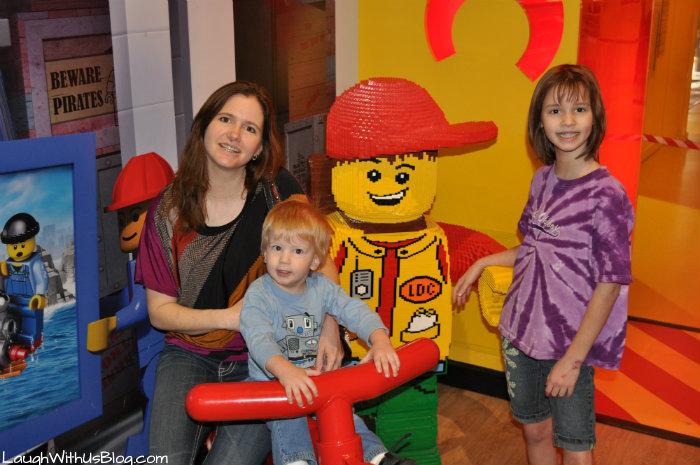 Excited at LegoLand #ad