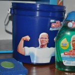 Tackling grime with Mr. Clean Liquid Muscle #MrCleanMorePower #sponsored