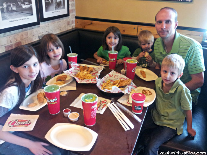 St Patrick's Day at Raising Cane's