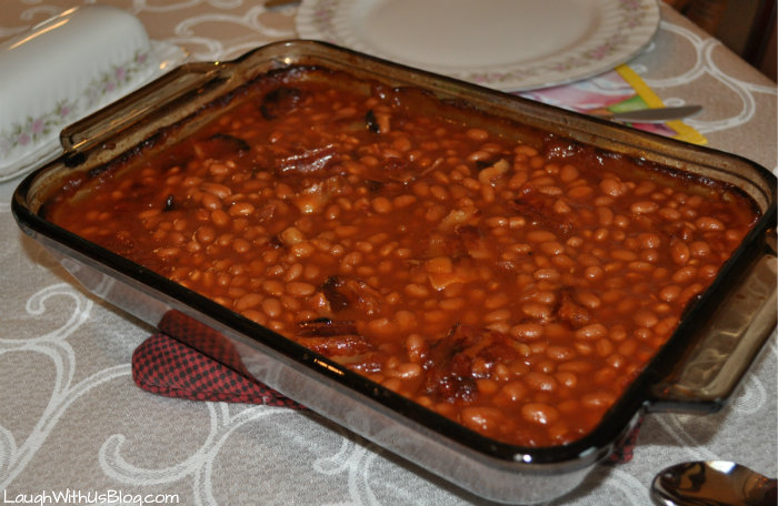 Baked Beans ready to serve