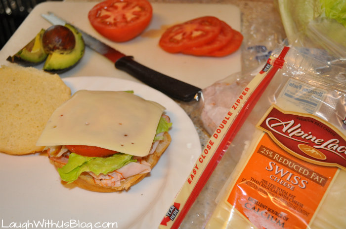 Great sandwich ingredients #ad