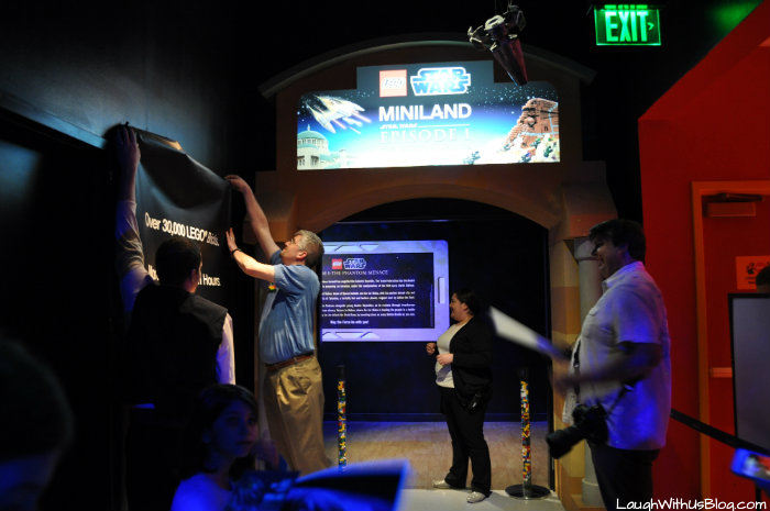 LEGOLAND Discovery Star Wars miniland media event
