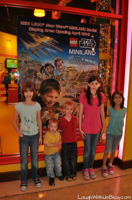 LEGOLAND Star Wars display