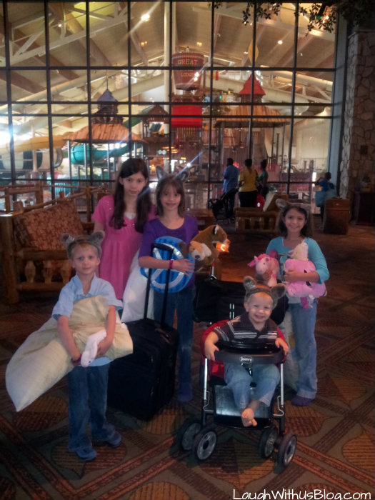Great Wolf Lodge adventure
