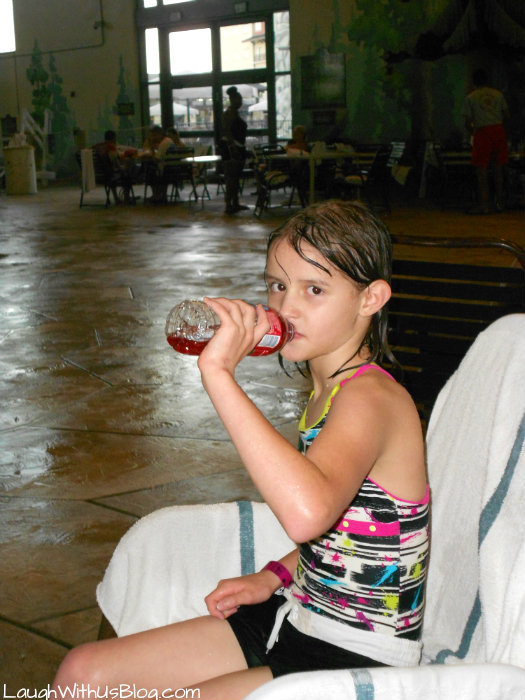 Great Wolf Lodge taking a break