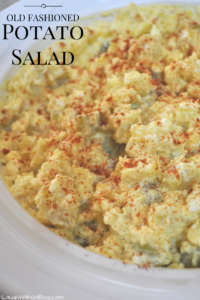 Old Fashioned Potato Salad from Scratch