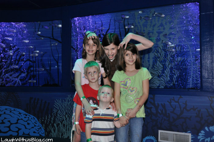 Sea Life Aquarium with the kids